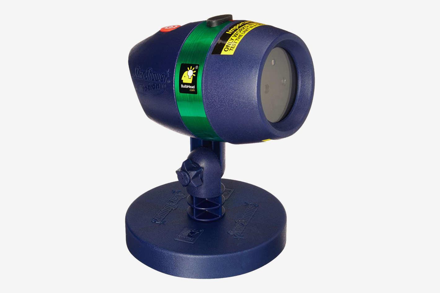 hight resolution of star shower motion laser light