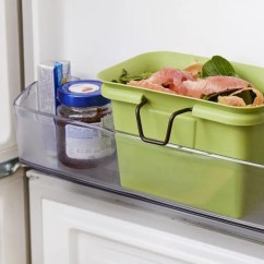 Compost Bin For Kitchen Framed Prints Kitchens 13 Stylish Bins Your Small 2018 Scrap Happy Collector Freezer