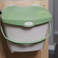 Compost Bin For Kitchen Play Kitchens Sale 13 Stylish Bins Your Small 2018 Mountable By Zero Waste Together