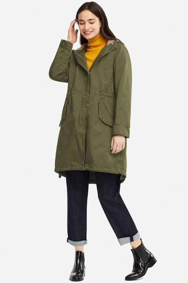 Uniqlo Women's Mods Coat