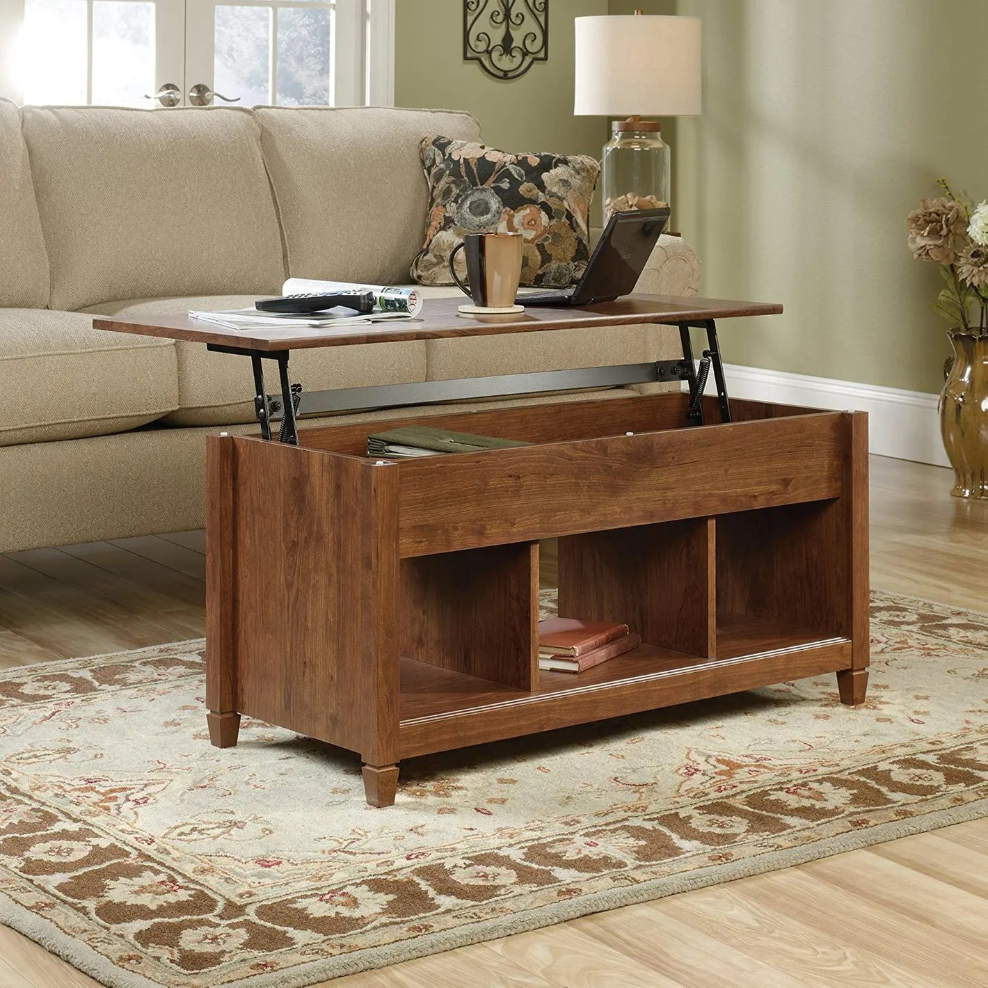 amazon com living room furniture purple ideas pictures 15 best dining tables and sets on 2018 sauder 419399 coffee table auburn cherry at