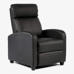 Recliner Chair With Ottoman Manufacturers Wheelchair Cost 9 Best Leather Recliners 2018 Bestmassage Modern Chaise Couch Single