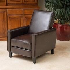 Reclining Club Chair X Rocker 9 Best Leather Recliners 2018 Great Deal Furniture Lucas Brown Modern Sleek Recliner