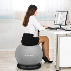 Office Chair Exercise Ball Lycra Covers And Sashes 9 Best Ergonomic Chairs According To Doctors 2018 Trideer 75cm