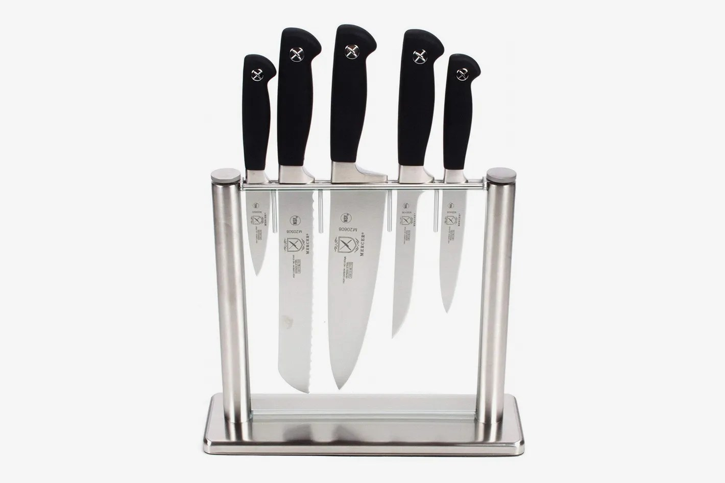 good kitchen knife set appliance package 17 best sets and reviews 2018 mercer culinary genesis 6 piece forged block tempered glass
