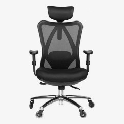 Ergonomic Chair Types 8 Table Size 15 Best Office Chairs And Home 2019 Duramont Adjustable With Lumbar Support Headrest