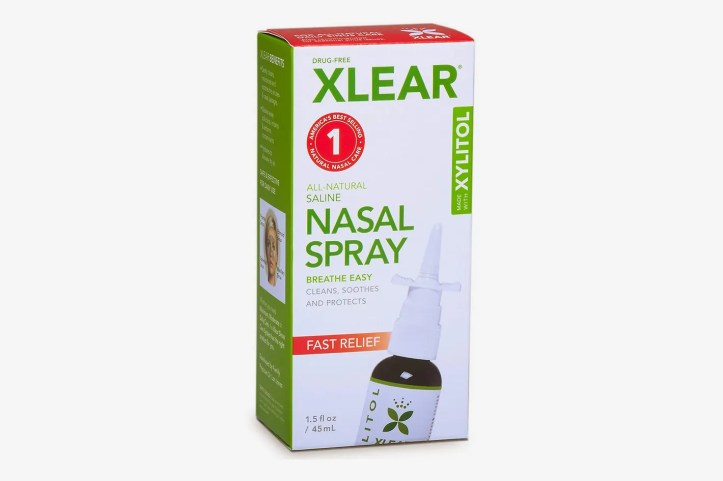 XLEAR Natural Saline Nasal Spray with Xylitol