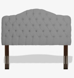 leggett platt martinique button tuft upholstered headboard with adjustable height [ 1420 x 946 Pixel ]