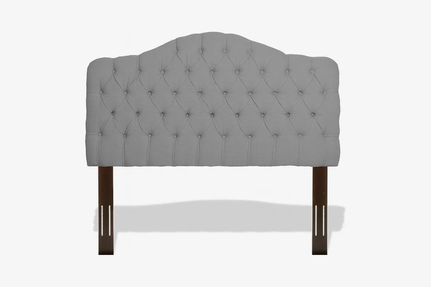 hight resolution of leggett platt martinique button tuft upholstered headboard with adjustable height