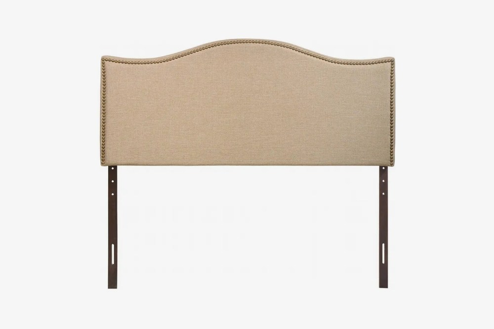 medium resolution of modway curl upholstered linen headboard size with nailhead trim