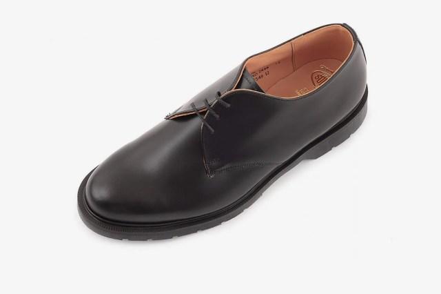 Solovair Men's 3 Eye Gibson Shoes