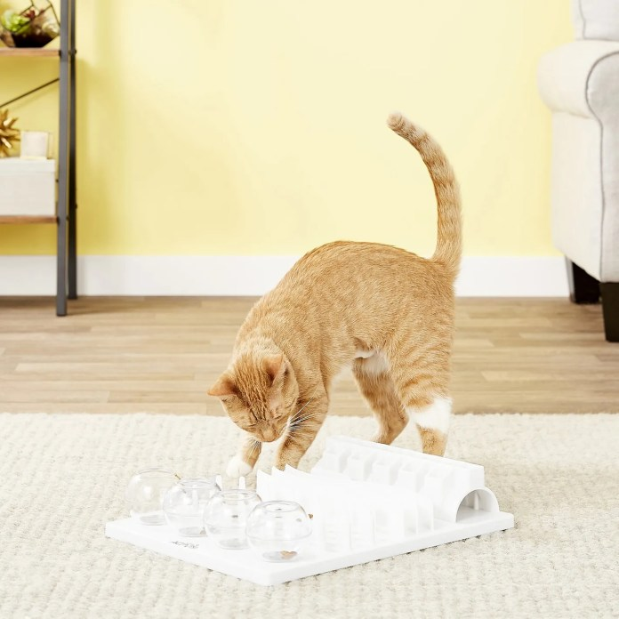 Trixie Activity Fun Board 5-in-1 Interactive Cat Toy