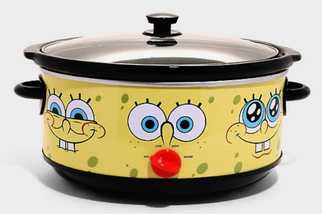 SpongeBob SquarePants x Hot Topic 7-Quart Slow Cooker
