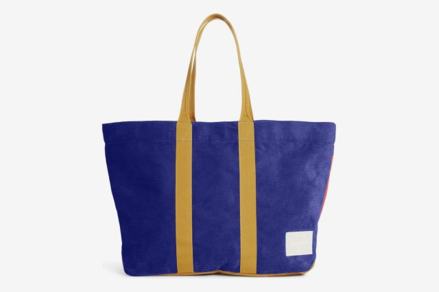 Herschel Supply Co. Skaha Tote, Blue/Red/Gold