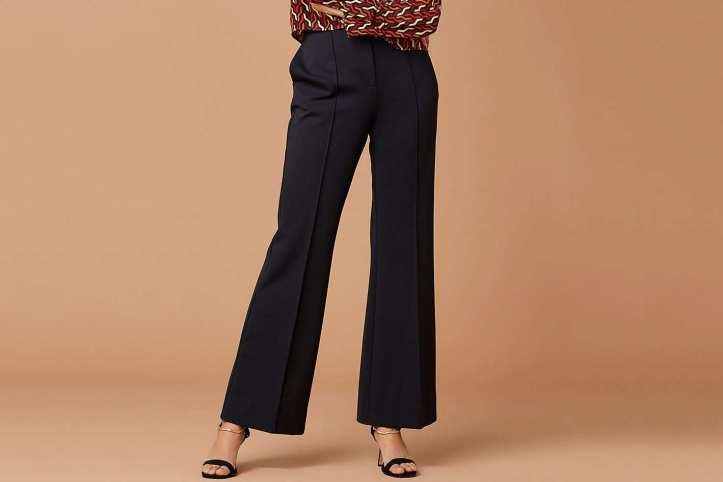 Diane von Furstenberg High-Waisted Flare Pant