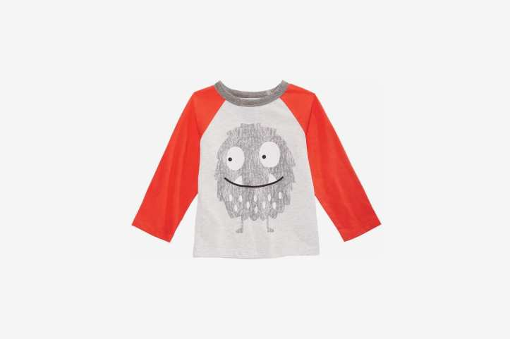 First Impressions Baby Boys Monster-Print T-Shirt