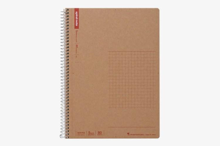 Maruman A5 Spiral Notebook