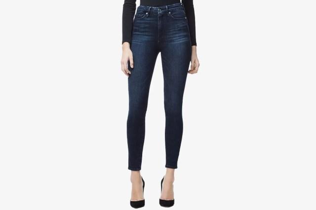 Good American Good Waist Ankle Skinny Jeans