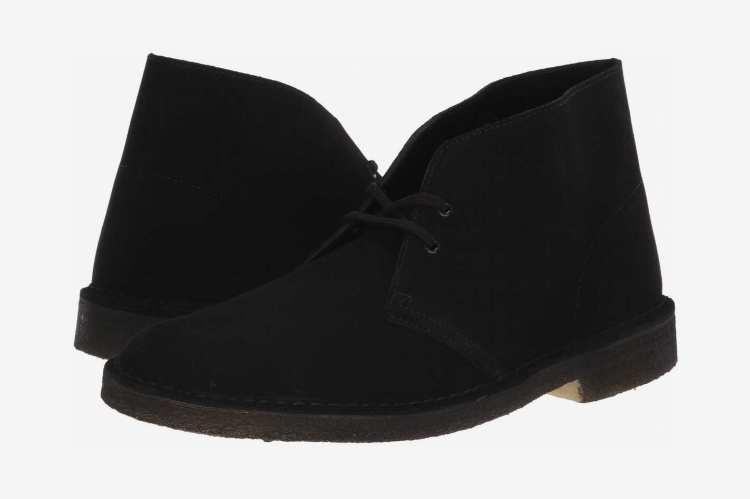 Clarks Desert Boot, Black Suede