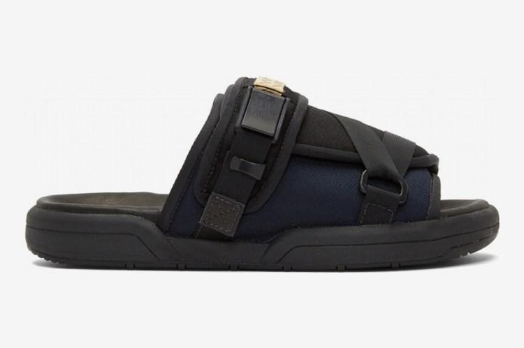 Visvim Black Christo 2-Tone Sandals