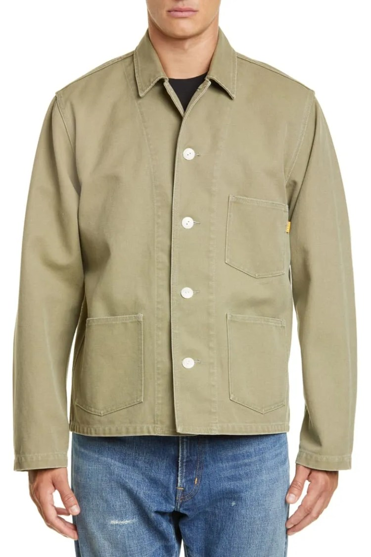 Union Los Angeles Canvas Chore Coat