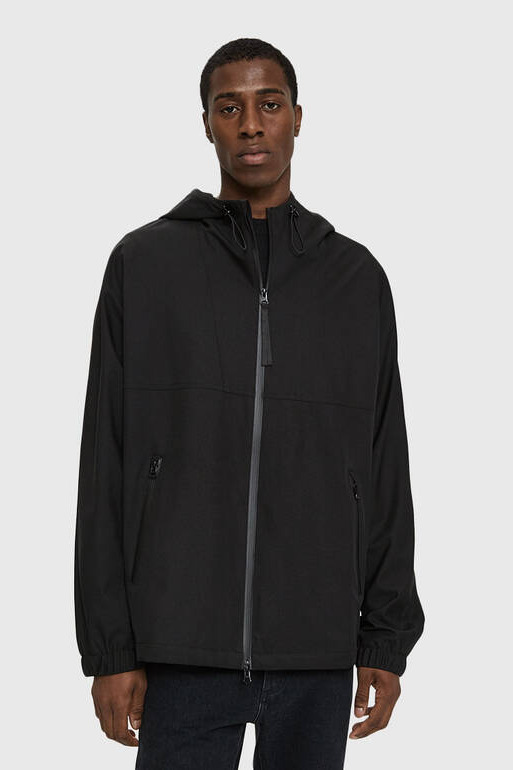NEED Hooded Poly Windbreaker