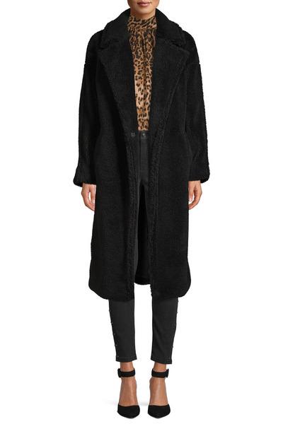 Scoop Vegan Fur Teddy Coat Women's