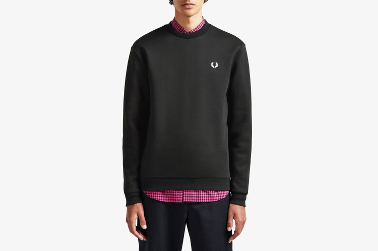 Fred Perry Laurel Wreath Print Sweatshirt