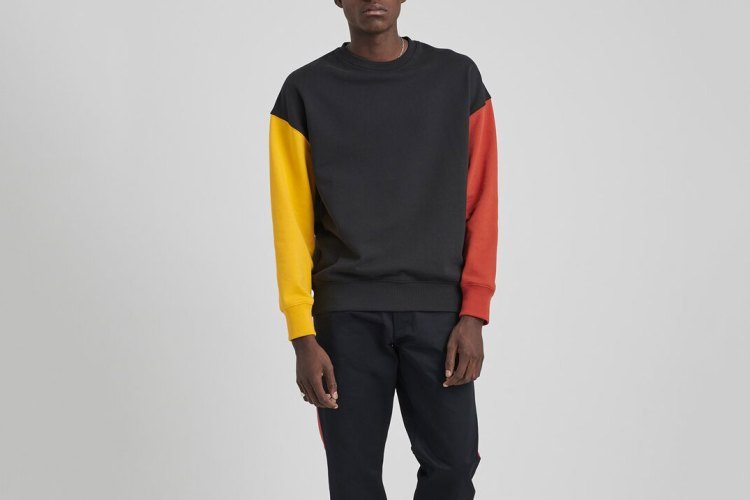 Saturdays NYC Colorblock Sweatshirt