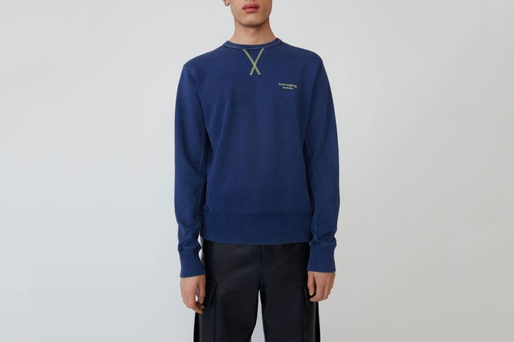Acne Studios Logo-embroidered sweatshirt