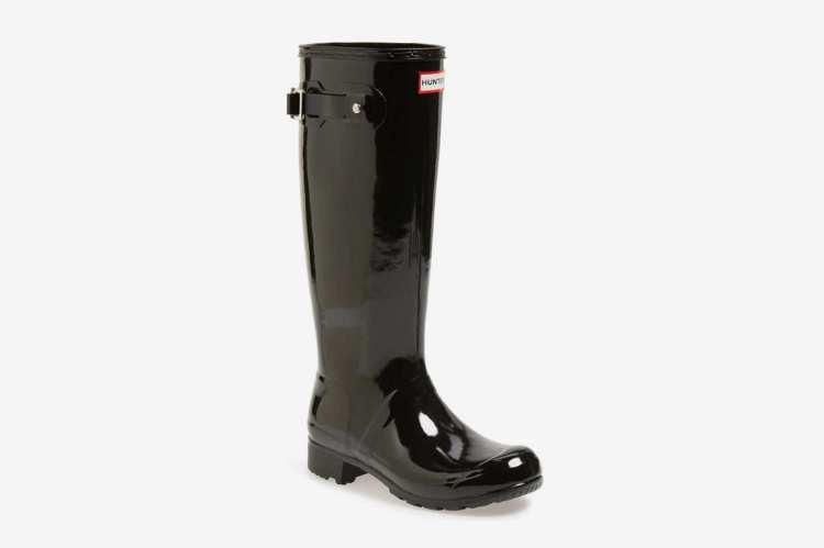 Hunter Women's Original Tour Gloss Packable Rain Boot