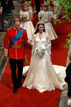 Sarah Burton Says a Few Words About Designing Kate Middleton's Wedding Dress