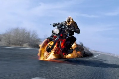 A still from 2012 superhero film Ghost Rider: Spirit of Vengeance