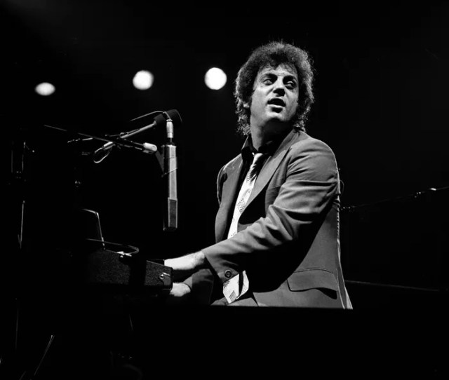 United States January  Billy Joel Performs Live On Stage During His  Us
