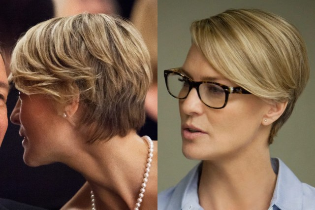best haircut: robin wright on house of cards