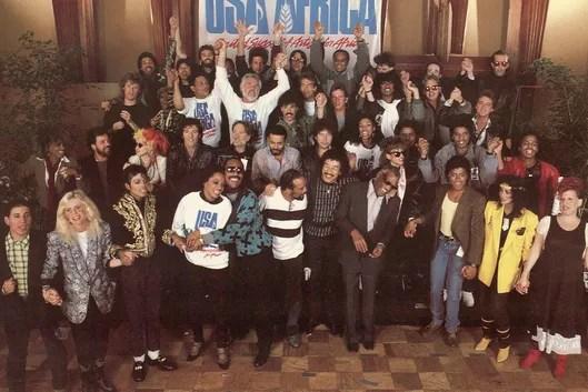 Resultado de imagem para we are the world 1985