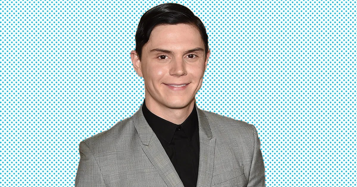 AHS Hotels Evan Peters on Playing a SerialKiller Ghost Lady Gaga and His Dream of AHS Space