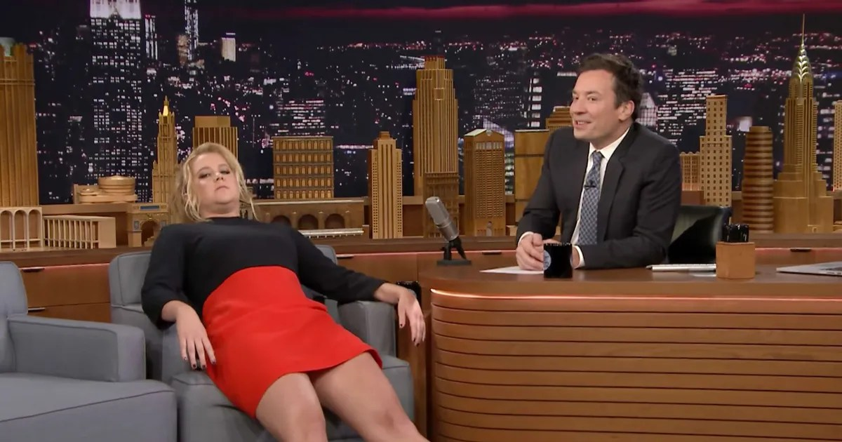 Amy Schumer Will Sit in Her Chair for LateNight