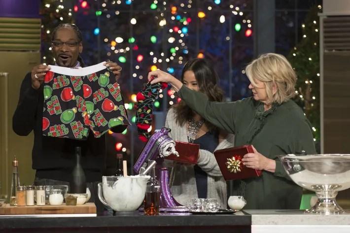 Martha  Snoops Potluck Dinner Party Recap A Very Eggnog