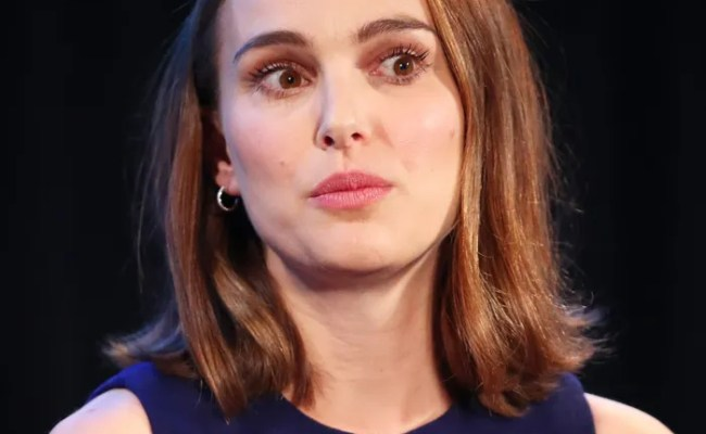 Natalie Portman On Hollywood S Sexual Harassment Problem