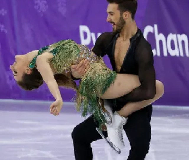 Olympic Figure Skater Brushes Off Nightmare Wardrobe Malfunction