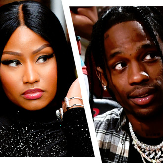 Image result for nicki and travis scott