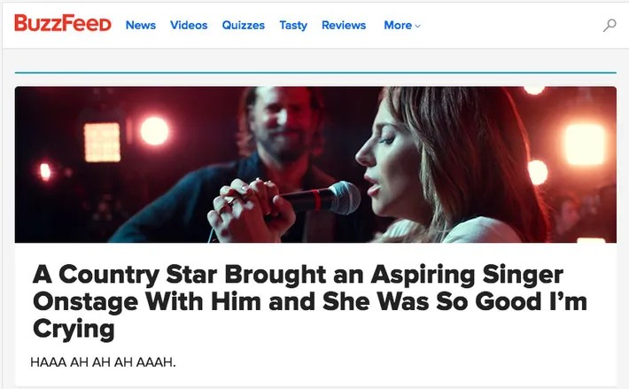 'A Star Is Born': How the Media Would Have Covered