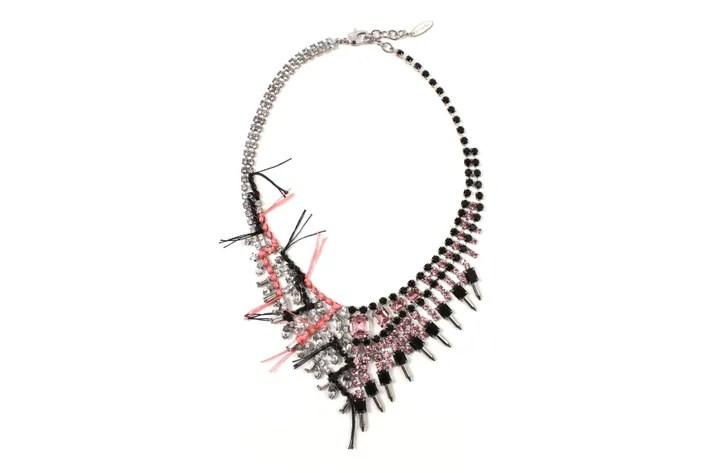 Joomi Lim's Split Personality Crystal Necklace