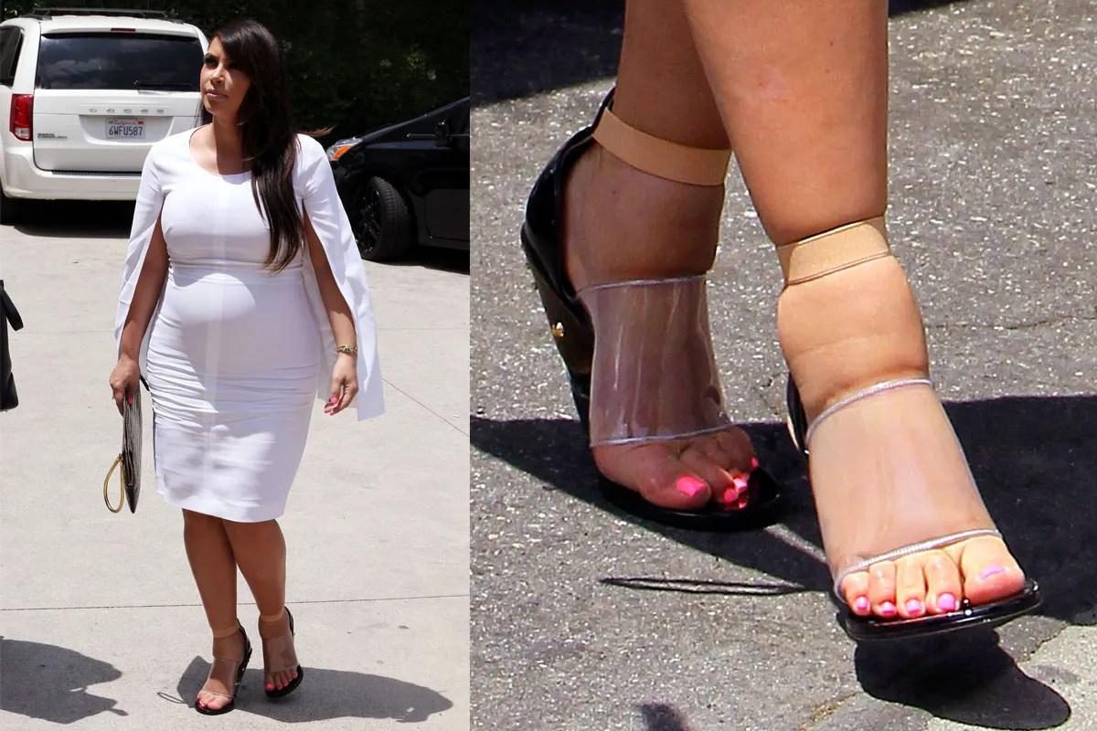 Kardashians Tortured Swollen Feet A Lament The Cut