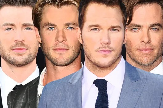 Image result for chris pratt vs chris pine