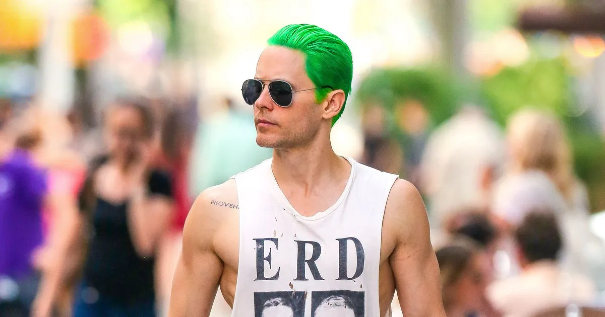 Jared Letos Green Hair Tests The Limits Of Our Love