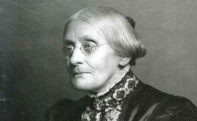 Susan B Anthony S New York Primary I Voted Pic Is The