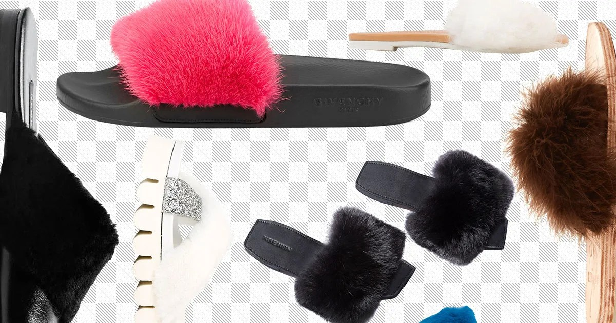 7 Alternatives to Rihannas Soldout Fur Slides