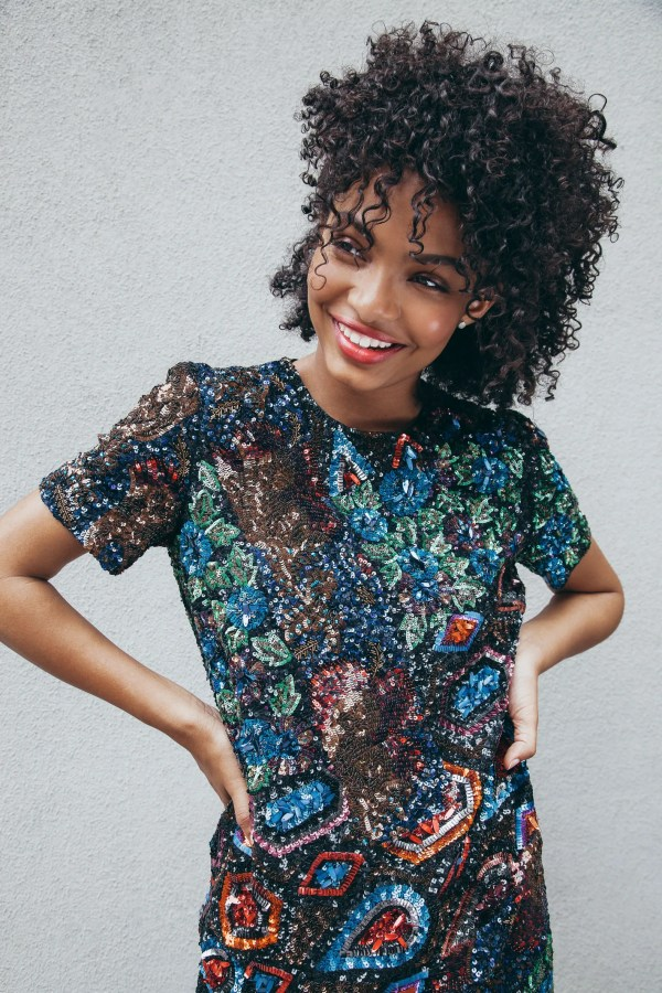'black-ish' Yara Shahidi Hair Race And Tv Mom